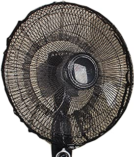 FORUSKY - Funda Protectora para Ventilador, para la protección de los niños y para Evitar el Polvo, de Malla, para Todo Tipo de Ventiladores oscilantes y de pie - 60 X 20 Black
