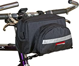 Bushwhacker Durango Black - Bicycle Handlebar Bag Cycling Front Pack Bike Bag Rear Frame Accessories