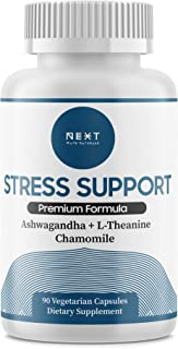 Next Wave Naturals Stress & Anxiety Support: Optimally Dosed Stress and Anxiety Supplement Designed to Reduce Stress, Soot...