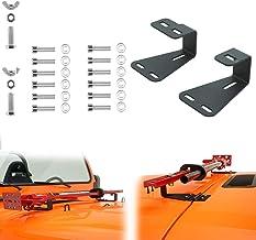 ECD-Germany Cric m/écanique /à cr/émaill/ère en Acier 1,5 tonnes Treuil de Charge Extensible avec poign/ée de Transport et manivelle Base de Plaque 14 cm x 13 cm