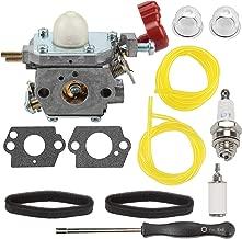 Mannial C1U-P27 753-06288 Carburetor Carb with Fuel Filter Air Filter Spark Plug fit MTD Troybilt MS2550 MS2560 MS9900 RM430 TB2040XP TB2044XP TB2MB TB430 Craftsman 316711170 316711190 Trimmer