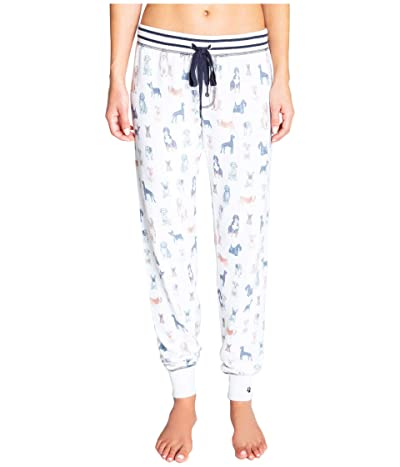 P.J. Salvage Paw-Ssible Joggers (Ivory) Women