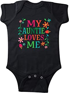 inktastic - My Auntie Loves Me Girls Infant Creeper 3015a