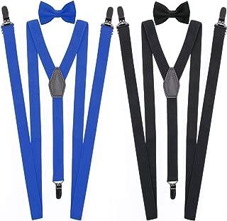Best black tie with suspenders Reviews