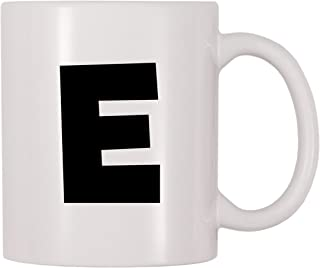 4 All Times Bold Letter E Coffee Mug (11 oz)