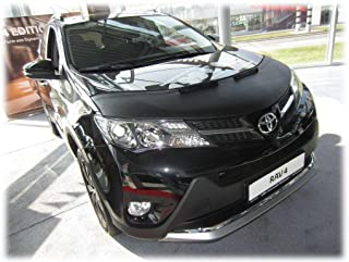 HOOD BRA Front End Nose Mask for Toyota RAV4 m.y. 2013-2018 Bonnet Bra STONEGUARD PROTECTOR TUNING