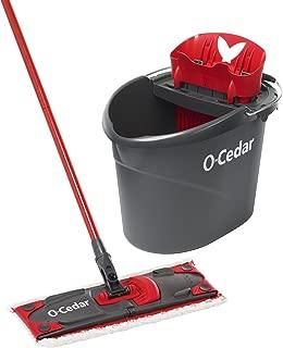 O-Cedar UltraMAX Microfiber Flat Mop & Bucket Kit