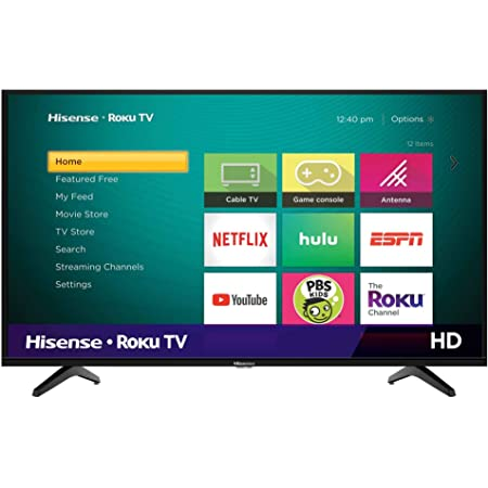 Hisense 32H4F 32-pulgadas LED Roku Smart TV con Google Assistant Compatibility (2020) (Reacondicionado)