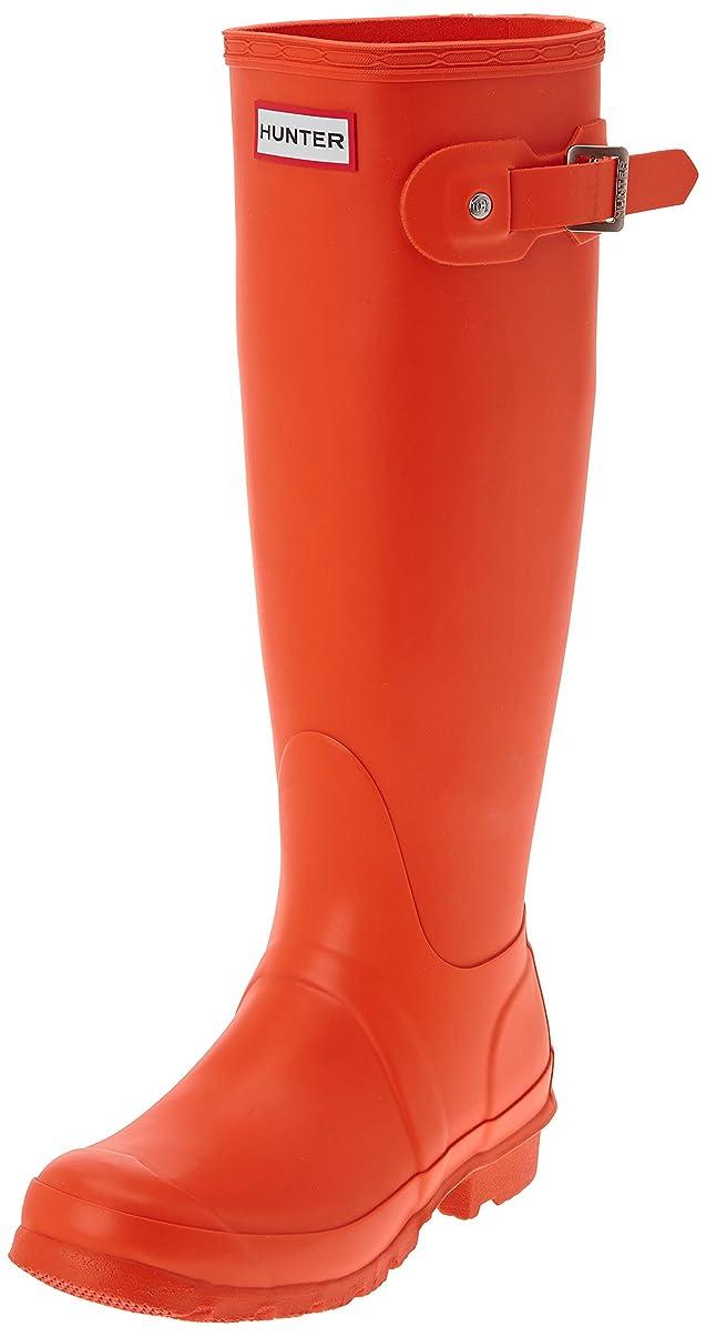 バケツ投票投資するハンターレディースブーツオレンジサイズ:4(23cm)