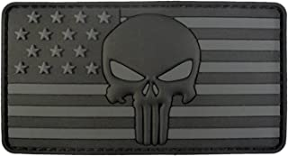 Best pvc punisher skull patch Reviews