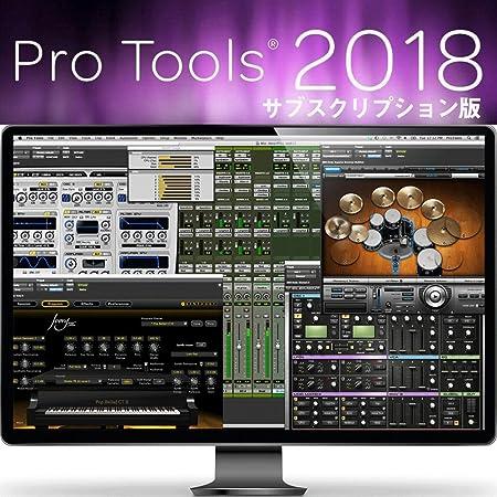 【国内正規品】 Pro Tools 1-Year Subscription (1年版) 【新規購入用】 1年間のアップグレード権 & サポートプラン / 特典プラグイン付