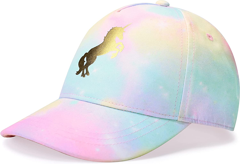 accsa Kids Trucker Hat Girls Baseball Cap Youth Cute Unicorn...