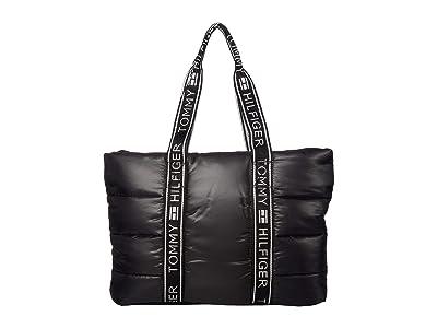 Tommy Hilfiger Skye Tote (Black) Bags