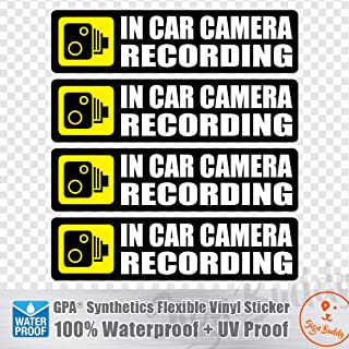 Best in car camera recording stickers Reviews