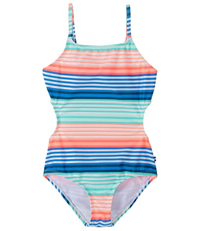 Nautica One Piece Swimsuit With Upf 50+ Sun Protection