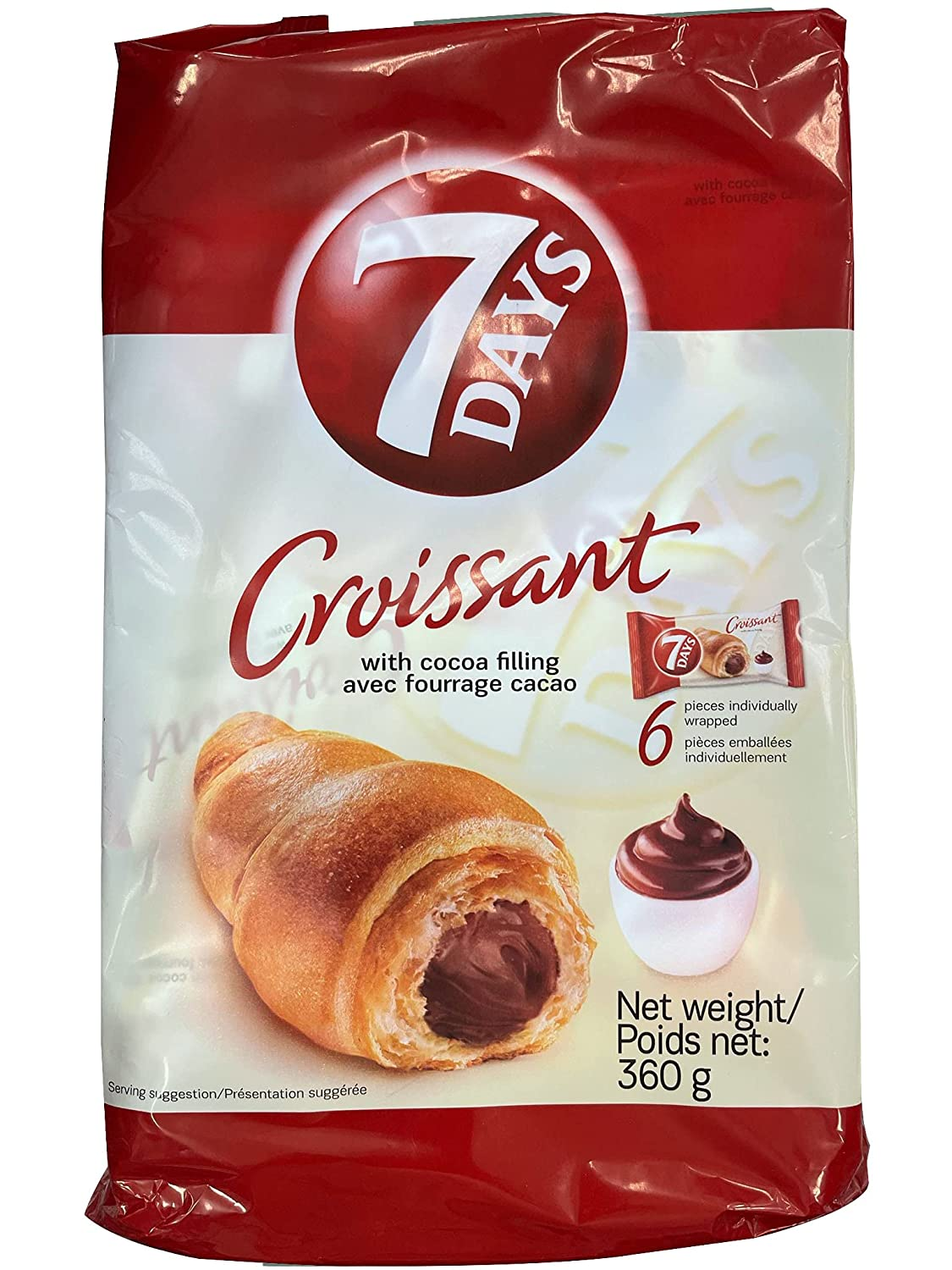 Max 58% OFF 7Days Soft Croissant Chocolate Filling 360g fro {Imported 13oz Max 71% OFF