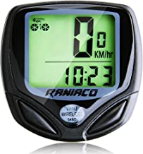 Bike Computer, Raniaco Original Wireless Bicycle Speedometer, Bike Odometer Cycling Multi Function- Premium Product Package, Gifts for Bikers/Men/Women/Teens