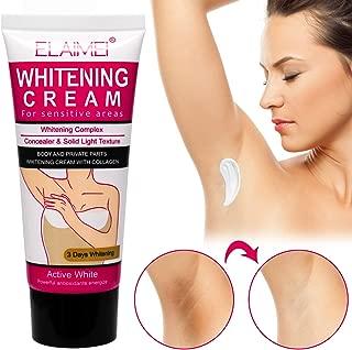 Underarm Cream, Natural Cream Effective for Face & Body, Underarm, Neck, Knees, Elbows, Sensitive & Private Areas, Dark Spot Strong Cream Repairs Skin