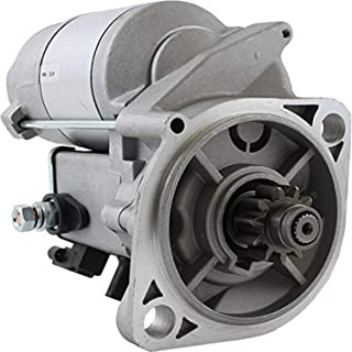 DB Electrical SND0381 Starter for John Deere Tractors 430 455 (84 85 86 87 88 89 90 91 92 93 94 95 96) F925 F932 F935 (88-On) 755 756 (86-90) Mustang Skid Steer 920 (90-96) AM100807 AM100809 TY25236