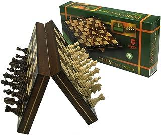 Wegiel ポーランド製 木製チェスセット マグネット式 マグネティック 27cm [並行輸入品]