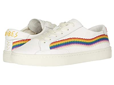 Soludos Rainbow Wave Sneaker (White) Women