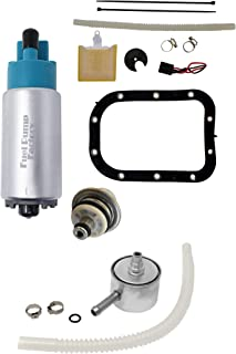 FPF Fuel Pump with Seal, Regulator and Fuel Filter for Harley Davidson 02-07 Softail, Fat Boy, Heritage Classic, Heritage Springer