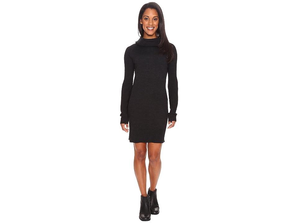 Smartwool Granite Falls Sweater Dress (Charcoal Heather) Women