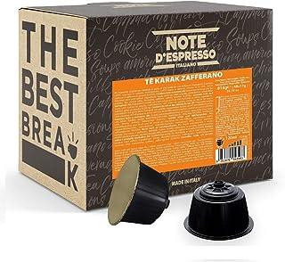 "Note d""Espresso Kapseln für Nescafe Dolce Gusto Kaffeemaschinen, Karak Chai Safran-Tee, 17 g 48-er Pack"