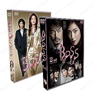 BOSS 第一部+第二部 TV+特典+映画+SP+OST,出演:天海祐希, 竹野内豊 14枚組DVDボックスセット,エピソード:11話