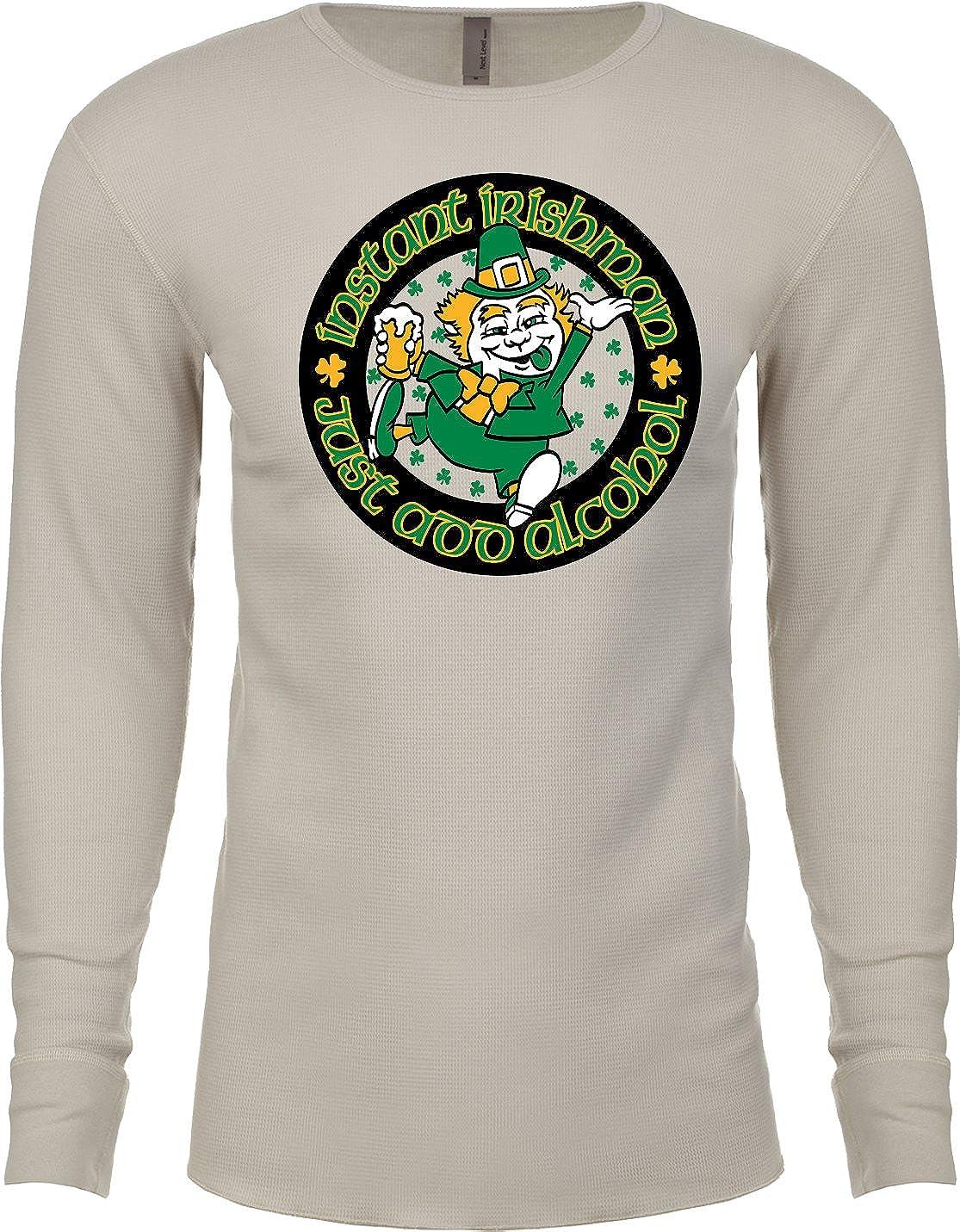 Buy Cool Shirts St Patricks Day Instant Irishman Thermal Shirt
