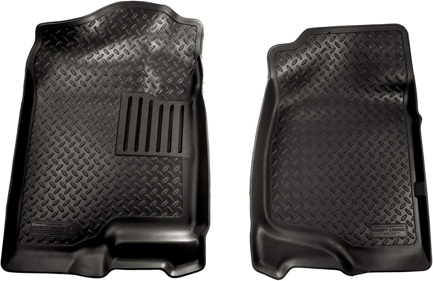 HUSKY WeatherBeater Floor Mats Front for Chevy Silverado GMC Sierra 1500 2500 35