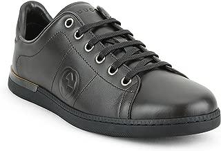 Gucci Women's Nappa Leather Low-top Trainer Sneaker, T.Moro (Dark Brown)