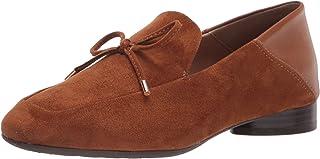 حذاء Mila Loafer نسائي من Aerosoles مصنوع من قماش أسمر ضارب للصفرة، 9. 5