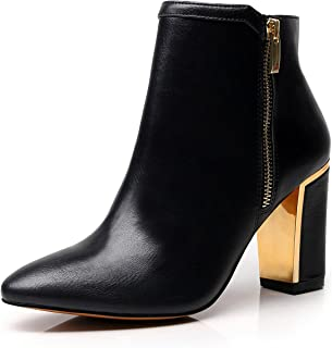 Best black and gold booties Reviews