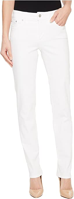 NYDJ - Sheri Slim in Optic White
