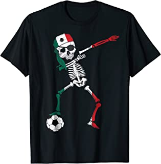 Mexico Pirate Patriotic Dabbing Mexico Soccer Jersey Shirt