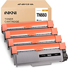 INKNI Compatible Toner Cartridge Replacement for Brother TN660 TN-660 TN630 for HL-L2380DW MFC-L2700DW HL-L2360DW HL-L2340DW MFC-L2740DW DCP-L2540DW HL-L2320D HL-L2300D MFC-L2685DW (Black, 4-Pack)