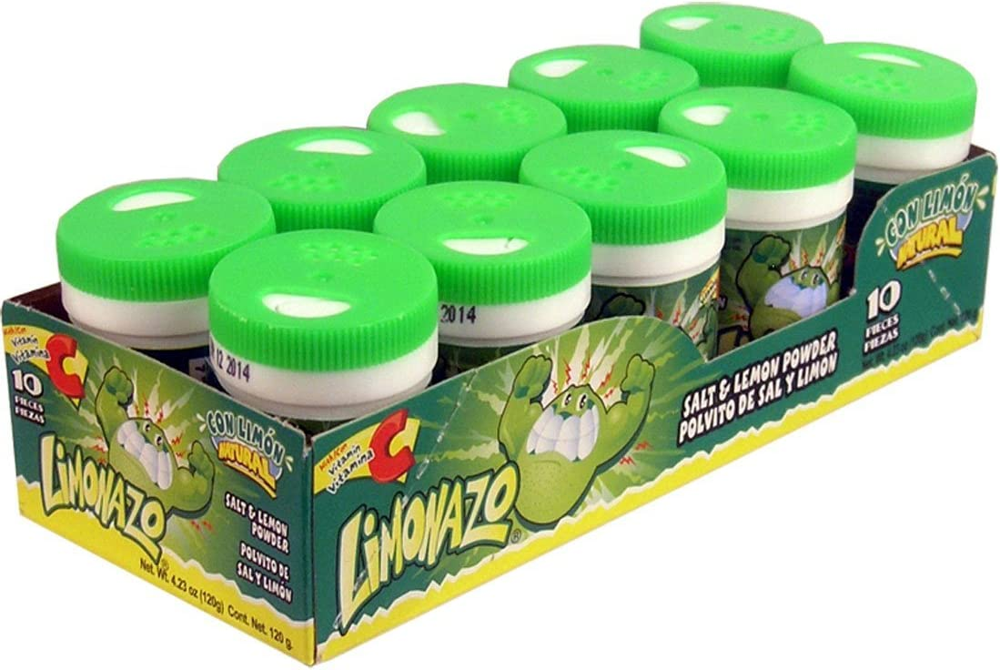 Jovy Cheap Candy Limonazo Salt and Al sold out. Lemon 10 Mini Shaker Powder Piece