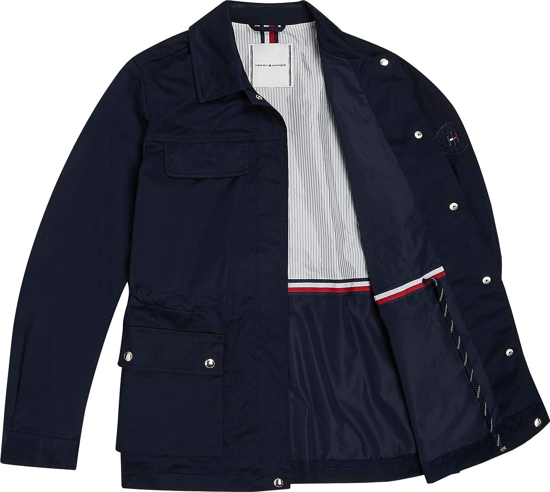 Tommy Hilfiger Womens Cotton Blend Field Jacket