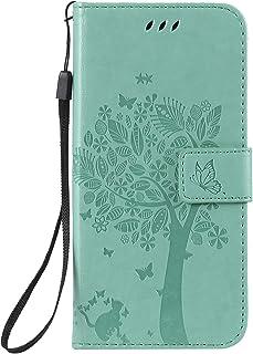 LODROC Lederen Portemonnee Case voor Huawei P30, [Kickstand Feature] Luxe PU Lederen Portemonnee Case Flip Folio Cover met...