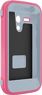 OtterBox DEFENDER SERIES for Moto G (1st Gen ONLY) - Retail Packaging - WILD ORCHID (POWDER GREY/BLAZE PINK)