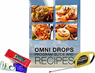 Omni Drop Program, Authentic Omnitrition - Basic Bundle Includes*** 4 oz Bottle Omni Drops with Vitamin B12 Program Guide, Samples and a Snapgate 10 Ft. Carabiner Tape Measure