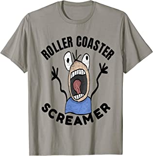 Roller Coaster Screamer Loves The Thrill Of The Ride T-Shirt