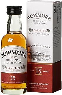 Bowmore 15 Jahre Darkest mit Geschenkverpackung Whisky 1 x 0.05 l