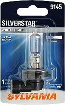 SYLVANIA - 9145 SilverStar Fog Light Bulb - High Performance Halogen Headlight Bulb, Brighter Downroad with Whiter Light (Contains 1 Bulb)