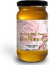 HiHoney Natural Organic Gulkand Prepared Using Damask Rose - 500 Grams (Ecofriendly Glass Jar)