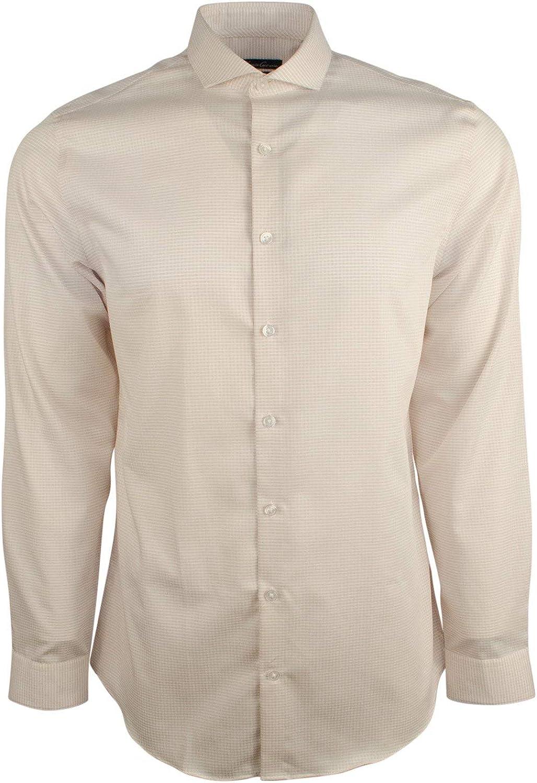Kenneth Cole New York Men's Non-Iron Slim Fit Long Sleeve Dress Shirt