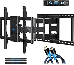 Mounting Dream Premium Full Motion TV Wall Mount Bracket Fits 16, 18, 24 inch Wood Stud Spacing, TV Mount with Articulatin...