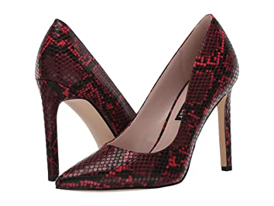 Nine West Tatiana Pump (Red/Black) High Heels