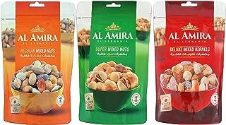 Al Amira - Mixed Nuts Combo (Regular, Super, Deluxe), 300g x 3